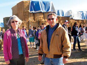 Jon Slutsky, right, and his wife Susan Moore.